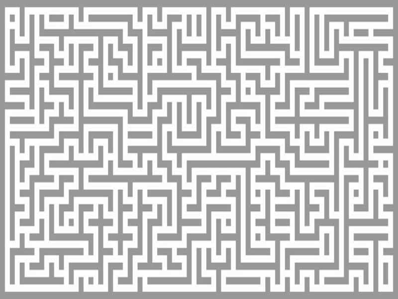 Nyomtatható labirintus feladatok gyerekeknek